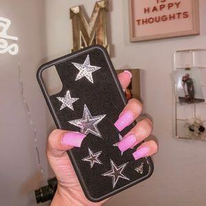 Wildflower Silver Star iPhone XR Case⭐️